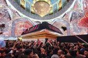 عزاداری زائران اربعین حسینی در حرم علوی/ گزارش تصویری