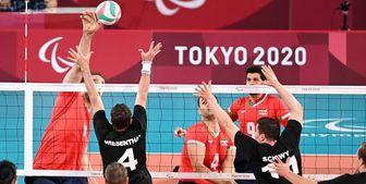 برد مقتدرانه تیم ملی والیبال نشسته ایران برابر بوسنی