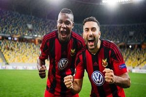 گلزنی سامان قدوس در جام حذفی سوئد