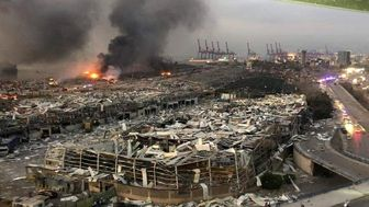 یک فاجعه تمام عیار در بیروت رخ داده است