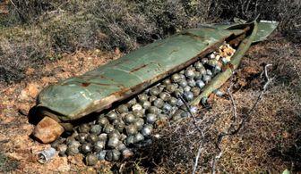 استفاده عربستان از بمب های خوشه ای در یمن