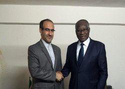تقدیم نامه ظریف به وزیر امور خارجه گینه
