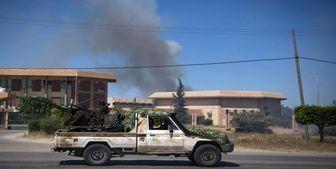 آغاز دور جدید حملات نیروهای حفتر به جنوب پایتخت لیبی