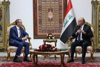 امضای توافق راهبردی میان انگلیس و عراق