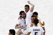 فوتبال ساحلی ایران با پیروزی مقابل روسیه قهرمان شد