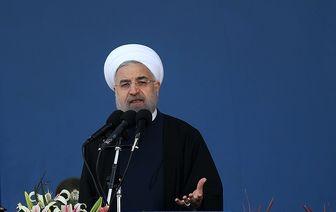 واکنش روحانی به غارت اموال ایران توسط آمریکا