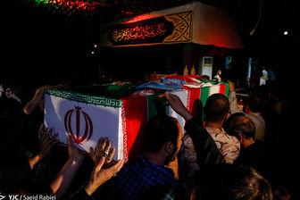 مراسم وداع با شهدای حمله تروریستی تهران در مجلس برگزار شد