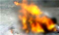 داعش یک زن عراقی را سوزاند
