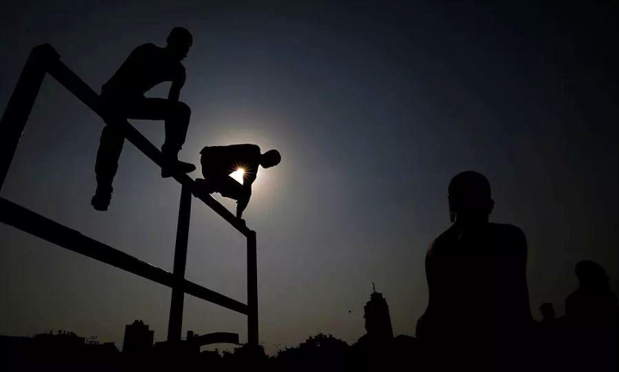 آموزش ویژه نیروهای پلیس فلسطین برای مقابله با کرونا + تصاویر