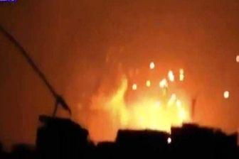 دفع حمله موشکی در حومه حماه توسط سوریه