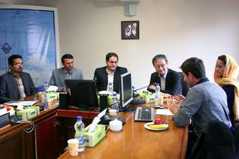 حضور مدیران دانشگاه فوجی ژاپن در مرکز مطالعات و برنامهریزی شهر تهران