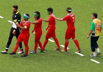 پیروزی تیم فوتبال 5 نفره ایران مقابل مراکش