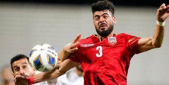 مدافع بحرین باید اخراج میشد