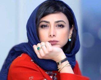 عکس یادگاری «آزاده صمدی» درکنار یوزارسیف سینمای ایران