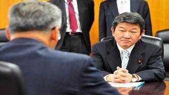 سفر وزیر خارجه ژاپن به ایران