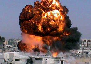 حمله توپخانه ای تروریست ها به حلب