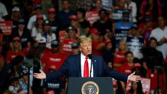 ترامپ با صندلیهای خالی رقابت انتخاباتی خود را آغاز کرد