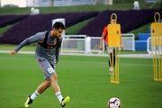 نخستین تمرین مرتضی پورعلیگنجی با تیم قطری