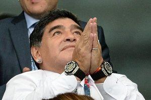 مارادونا از لیونل مسی عذرخواهی کرد