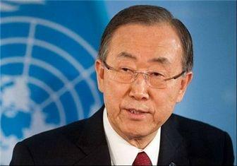 بانکیمون: اسرائیل حق دفاع از خود را دارد