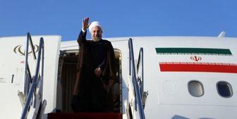 روحانی قرقیزستان را به مقصد دوشنبه ترک کرد