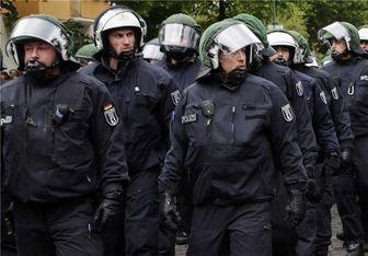 پلیس آلمان مانع برگزاری تظاهرات کردها شد
