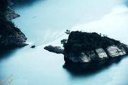 جزیرهای عجیب به شکل اثر انگشت/عکس