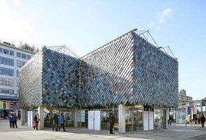 احداث ساختمانی در هلند با استفاده از زباله +عکس