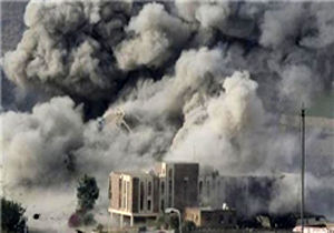 حملات شدید عربستان به شهر جنگزده تعز