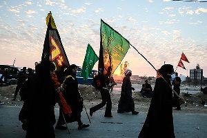 ازدحام زائرین حسینی در مرز شلمچه/عکس