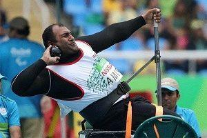 مدال های طلا و نقره پرتاب وزنه بر گردن ورزشکاران ایرانی
