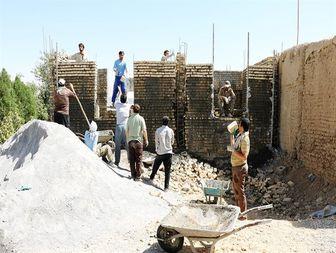 اردوی جهادی در مناطق محروم خنداب+تصاویر