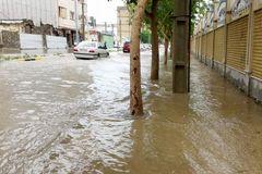 سیل و طوفان در ۹ استان کشور