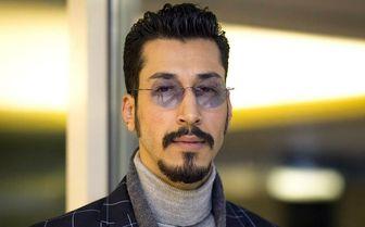 استایل شیک بلندقامت ترین بازیگر سینمای ایران/ عکس