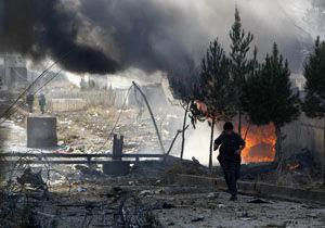 کشته شدن ۷ غیرنظامی در حمله هوایی آمریکا به شرق افغانستان