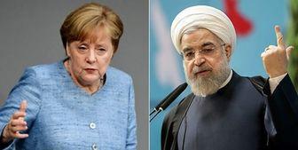 صدراعظم آلمان جداگانه با روحانی و ترامپ دیدار میکند