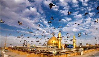 تصاویری ناب از ایوان نجف در آستانه عیدغدیر