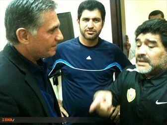 مارادونا: به کروش زنگ زدم اما او تهدیدم کرد