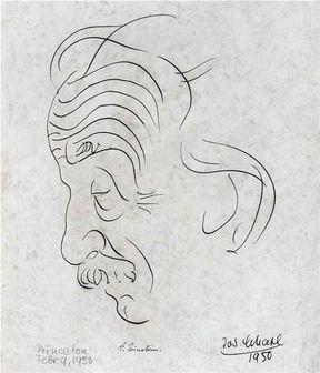 حراج پرتره ای از اینشتین در آمریکا + عکس