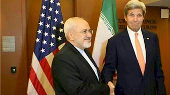 دیدار ظریف و کری پیش از نشست وزرای امور خارجه ایران و گروه 1+5