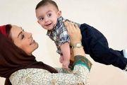 ویدئوی غمانگیز آرزوهای «ماهچهره خلیلی» برای پسرش