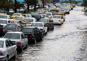 احتمال آبگرفتگی معابر شهر تهران در پی بارش باران عصرگاهی