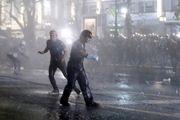 درگیری معترضان به نظام سلطنتی در تایلند با نیروهای امنیتی