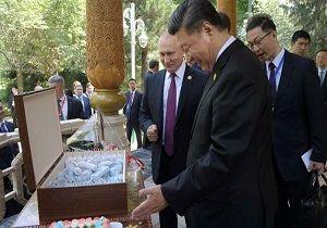 هدیه جالب توجه پوتین به شی جین پینگ به مناسبت تولدش +ویدئو