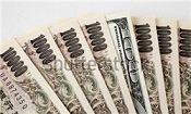 افزایش نرخ ین در مقابل دلار و یورو
