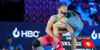 عرفان الهی باخت و ایران دیگر قهرمان جهان نمی شود