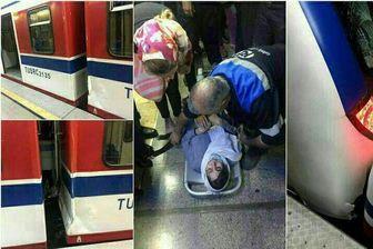 راهبر قطار عقبی متروی تهران بازداشت شد