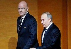 حضور پوتین در پای صندوق آرای ریاست جمهوری/عکس