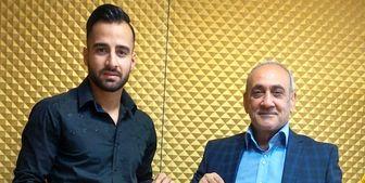 تمدید قرارداد عباسی با فولاد خوزستان+ عکس