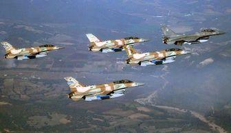 تجاوز هوایی رژیم صهیونیستی به غزه